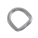 aWelded d-rings - Zinc-plated steel