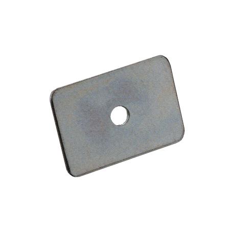 Contre-plaques de sangles - 1 trou Ø8,2