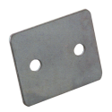 dStrap backing plate - 2 holes Ø7,0 center distance 30mm