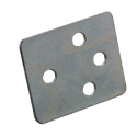 eStrap backing plate - 4 hole Ø7,0